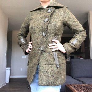 EUC Mackage Wool Blend Pea Coat